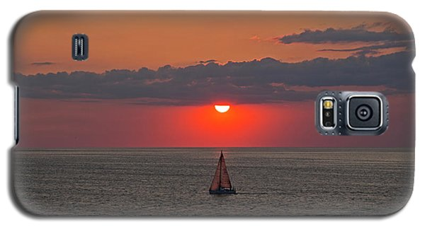 Sailboat Sunset Galaxy S5 Case