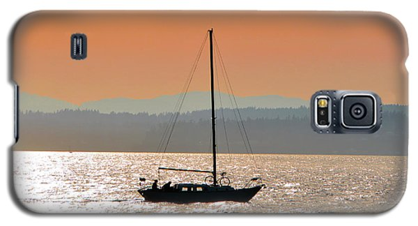 Sailboat With Bike Galaxy S5 Case