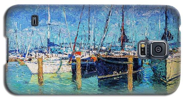 Sailboats At Balatonfured Galaxy S5 Case