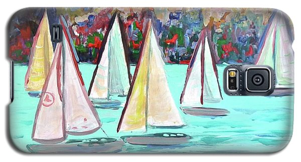 Sailboats In Spain I Galaxy S5 Case