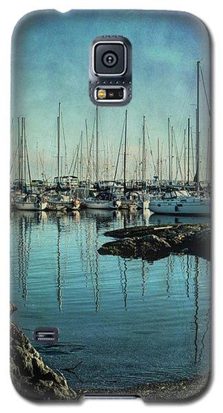 Marina - Digitally Textured Galaxy S5 Case by Marilyn Wilson