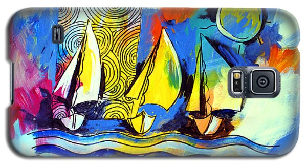 Sailboats Galaxy S5 Case