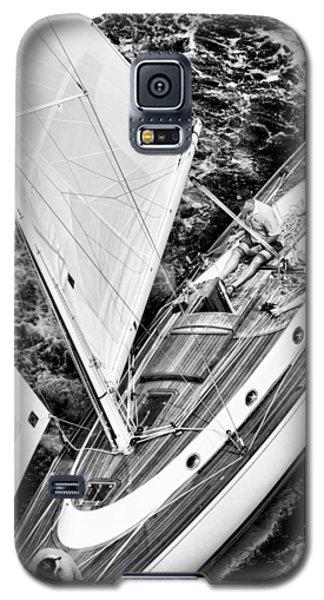 Sailing A Classic Galaxy S5 Case