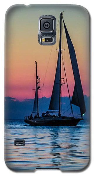 Sailing After Sunset Galaxy S5 Case