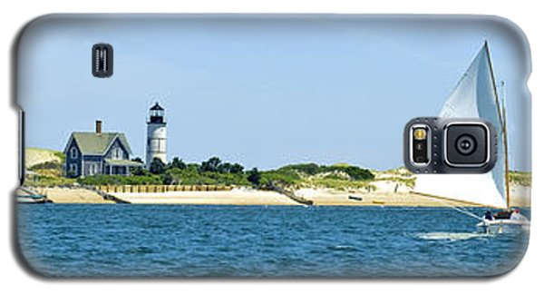 Sailing Around Barnstable Harbor Galaxy S5 Case by Charles Harden