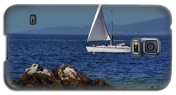 Sailing At Mykonos Galaxy S5 Case