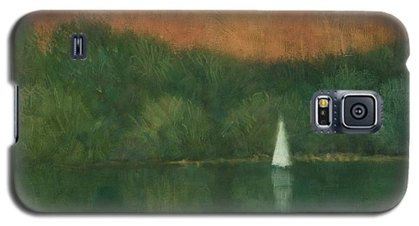 Sailing At Trelissick Galaxy S5 Case by Steve Mitchell