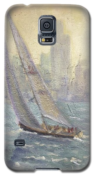 Sailing Chicago Galaxy S5 Case