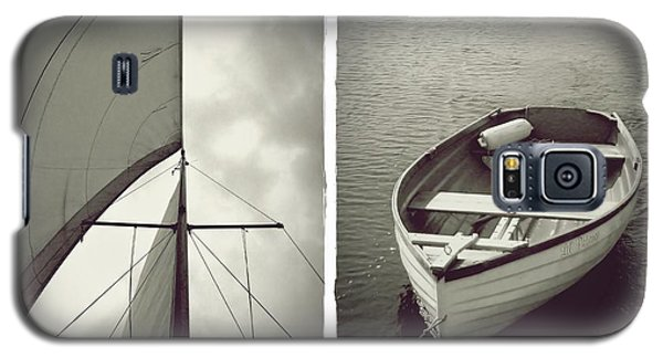 Sailing Diptych Galaxy S5 Case by Patricia Strand