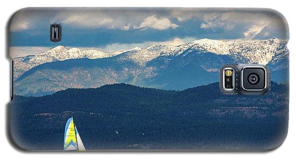 Sailing Flathead Lake Galaxy S5 Case