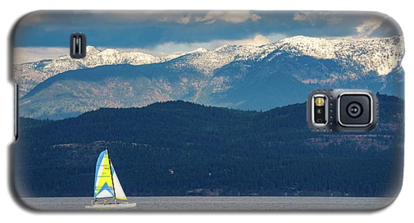 Sailing Flathead Lake Galaxy S5 Case