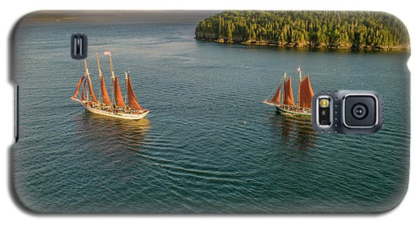 Sailing Frenchman Bay Galaxy S5 Case