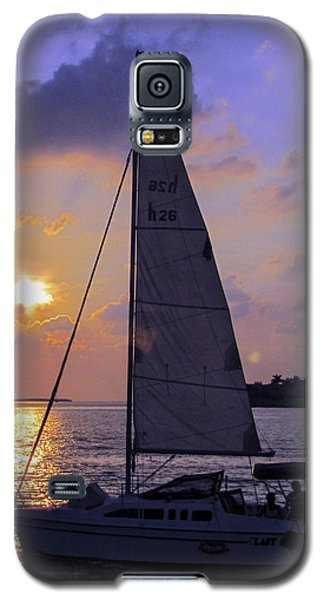 Sailing Home Sunset In Key West Galaxy S5 Case