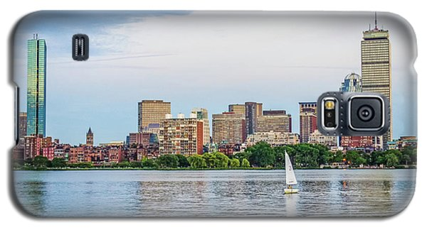Sailing In Back Bay Galaxy S5 Case by Mike Ste Marie