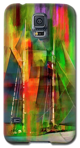 Sailing In The Abstract 2016 Galaxy S5 Case