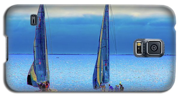 Sailing In The Blue Galaxy S5 Case by Joseph Hollingsworth