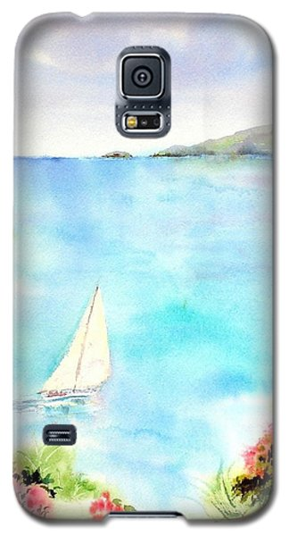 Sailing In The Caribbean Galaxy S5 Case
