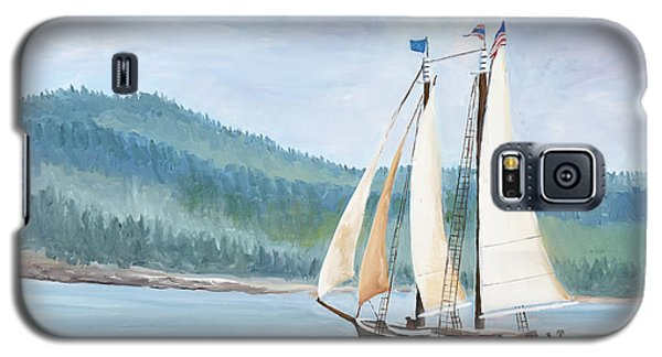Sailing Into Castine Harbor Galaxy S5 Case