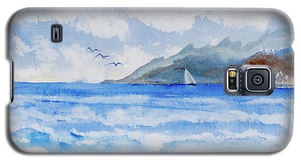 Sailing Into Moorea Galaxy S5 Case