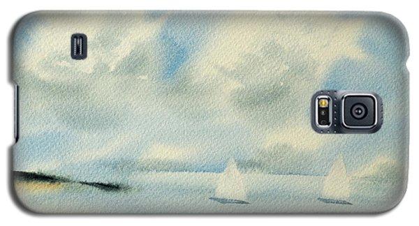 Sailing Into A Calm Anchorage Galaxy S5 Case