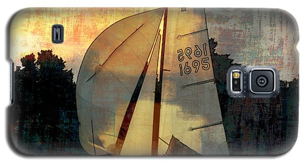 Sailing Into The Sunset Galaxy S5 Case by LemonArt Photography