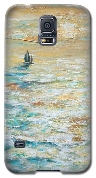 Sailing Into The Sunset Galaxy S5 Case