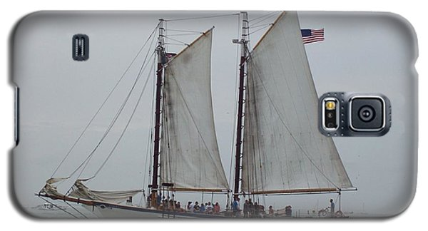 Galaxy S5 Case featuring the photograph Sailing Key West  by Nancy Taylor