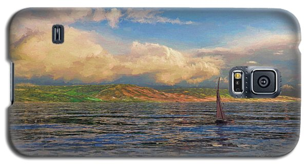 Sailing On Galilee Galaxy S5 Case by Dave Luebbert