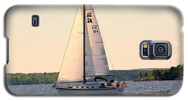 Sailing On Lake Murray Sc Galaxy S5 Case