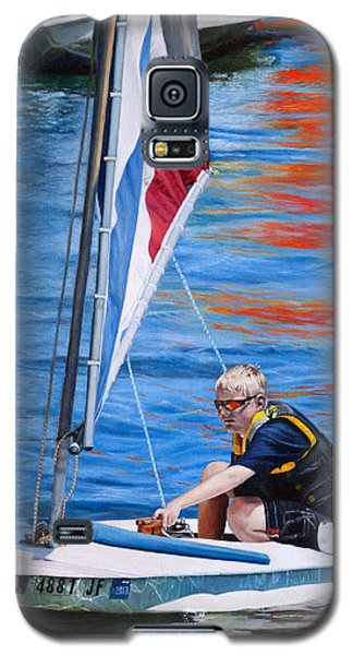 Sailing On Lake Thunderbird Galaxy S5 Case