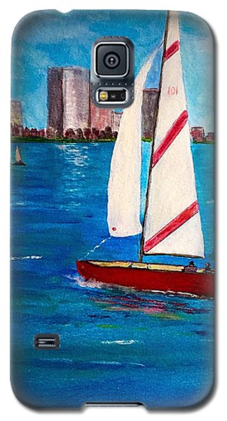 Sailing On The Charles Galaxy S5 Case
