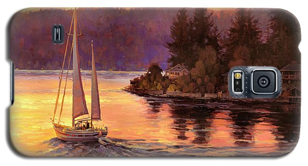 Seattle Galaxy S5 Case - Sailing On The Sound by Steve Henderson