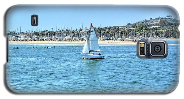 Sailing Out Of The Harbor Galaxy S5 Case