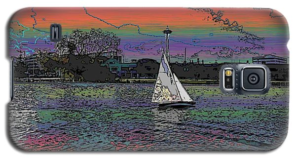 Sailing South Lake Union Galaxy S5 Case