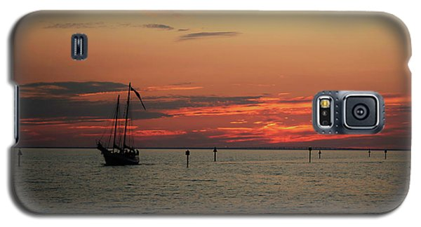 Sailing Sunset Galaxy S5 Case
