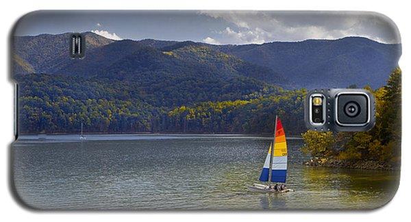 Sailing The Mountain Lakes Galaxy S5 Case