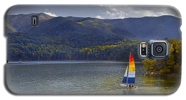 Sailing The Mountain Lakes Galaxy S5 Case