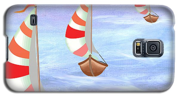 Sailing Threesome Galaxy S5 Case