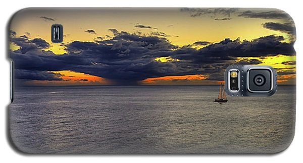 Sailing To Sunset Galaxy S5 Case