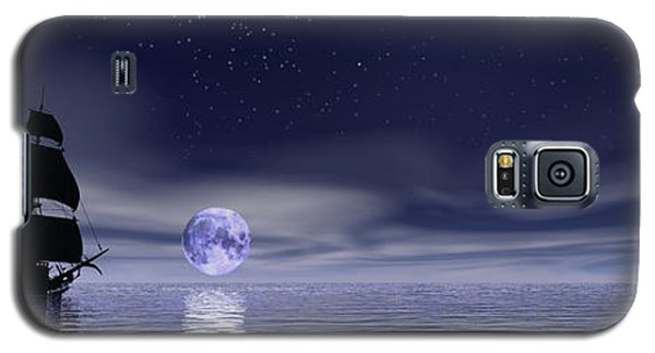 Sails Beneath The Moon Galaxy S5 Case by Mark Blauhoefer