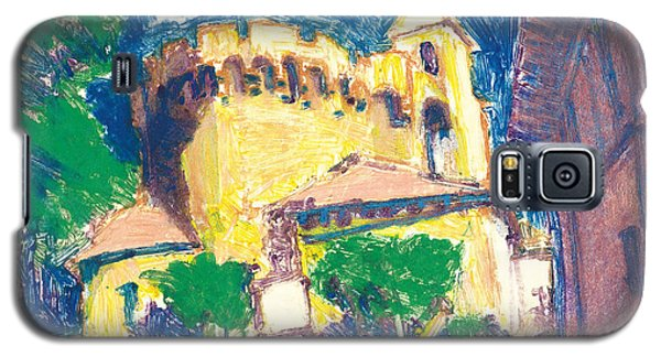 Galaxy S5 Case featuring the painting Saint Andiol Provence by Martin Stankewitz