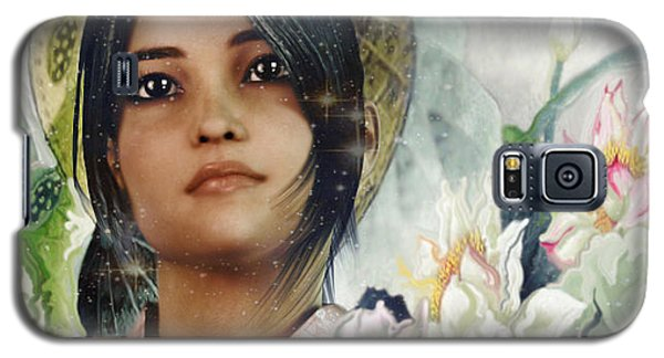 Saint Anna Wang Light Of China Galaxy S5 Case by Suzanne Silvir