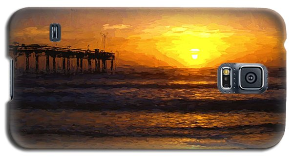 Saint Augustine Beach Sunrise Galaxy S5 Case