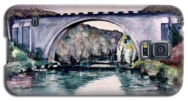Galaxy S5 Case featuring the painting Saint Bridge by Geni Gorani