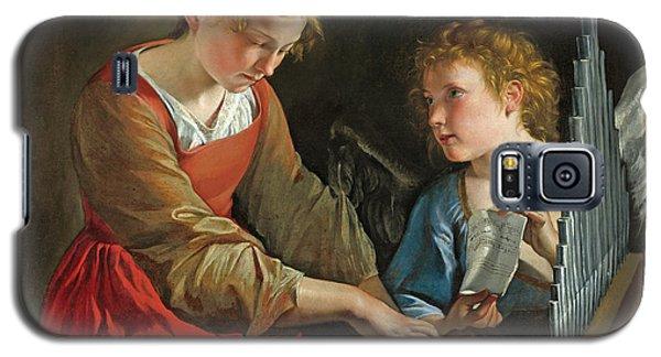 Saint Cecilia And An Angel Galaxy S5 Case