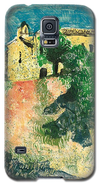 Galaxy S5 Case featuring the painting Saint Donat Provence by Martin Stankewitz