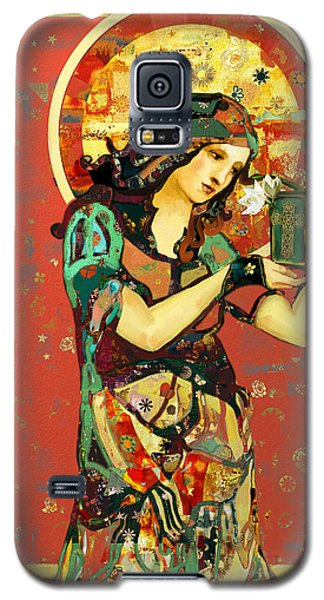 Saint Dymphna Galaxy S5 Case