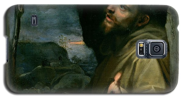 Galaxy S5 Case featuring the painting Saint Francis by Federico Barocci