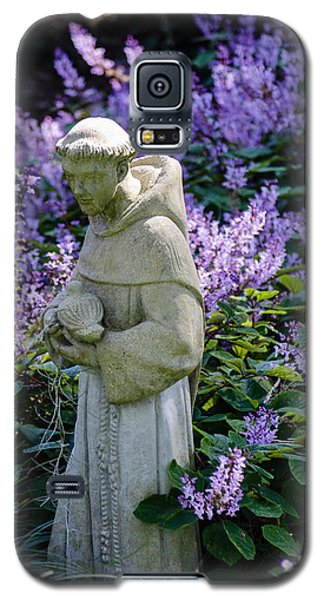 Saint Francis In Lavender Galaxy S5 Case