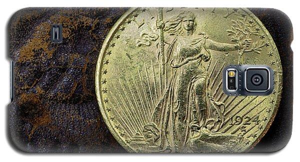 Saint Gaudens Gold Galaxy S5 Case by JC Findley